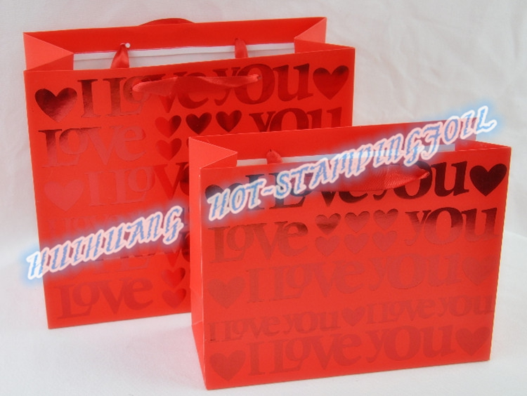 Holo hot stamping foil for Paper Bag